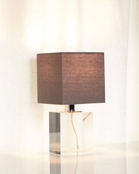 Mini Crystal Block Lamp