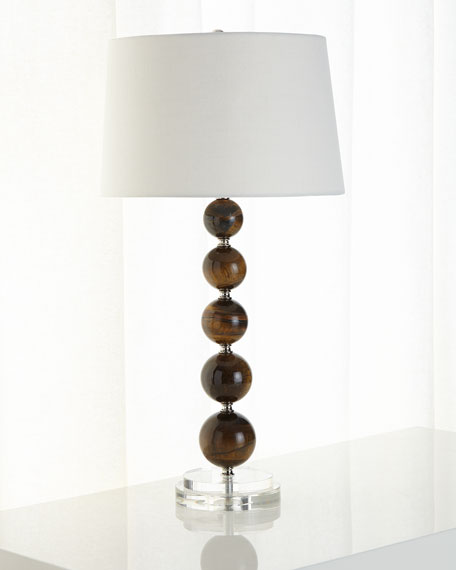 Tiger-Eye Quartz Table Lamp