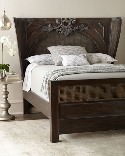 Remberts Cane King Bed
