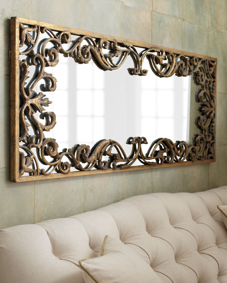 Framed Bathroom Mirrors Australia decorative wall mirrors & floor mirrors at horchow