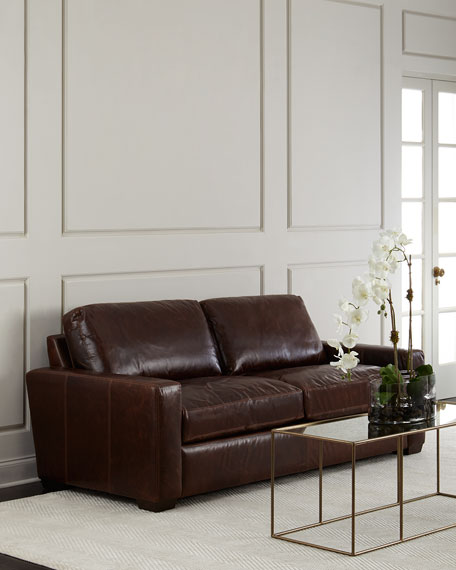 Templeton Leather Sofa