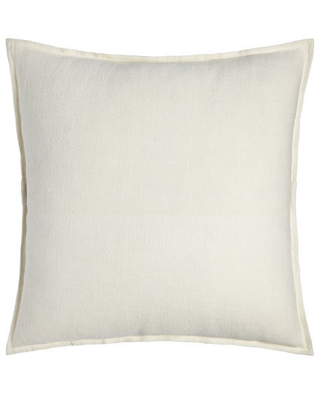 "Montauk Extra-Large European Pillow, 28""Sq."