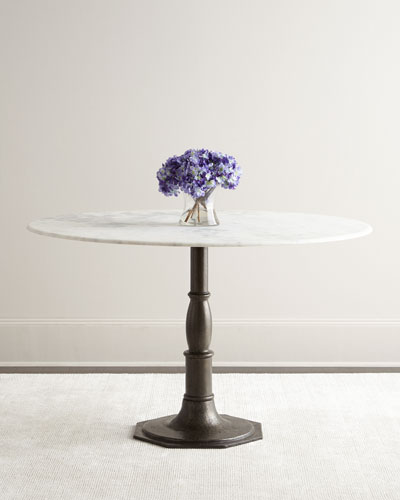 Pierre Marble-Top Dining Table