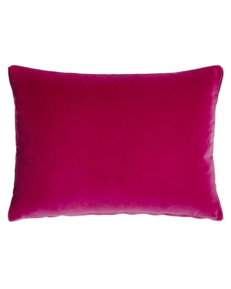 "Cassia Magenta Pillow, 18"" x 24"""