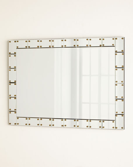 Mirror-Tile Framed Mirror