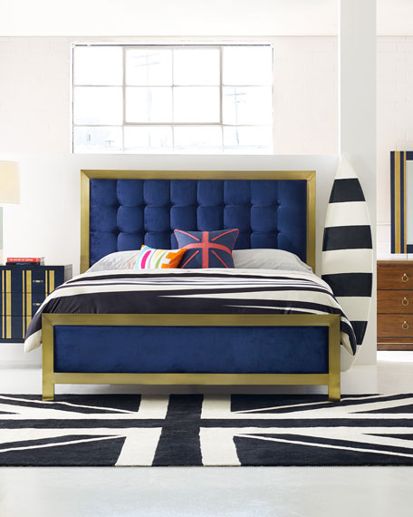 Cynthia Rowley for Hooker Furniture Balthazar Tufted California