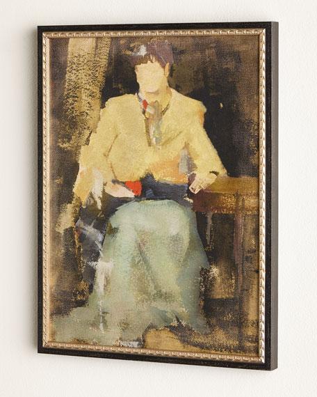 """Woman Sitting"" Giclee"