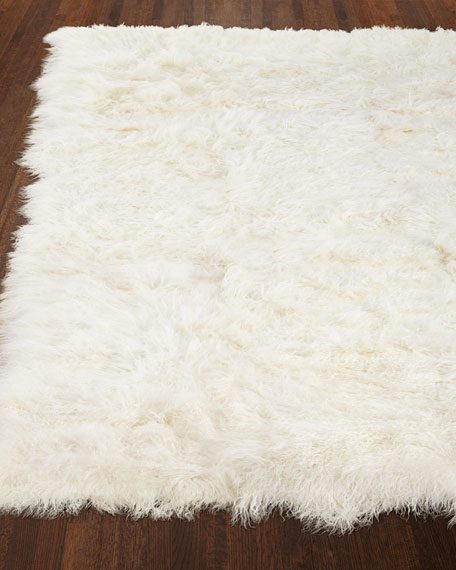 Super soft sheepskin rug