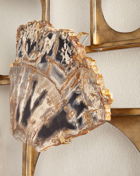 Hale Petrified Wood Wall Decor