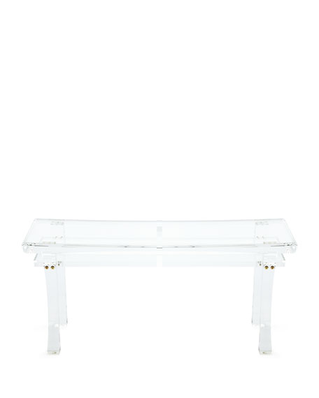 jacinda acrylic bench - Acrylic Bench