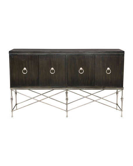 Sutton House Buffet with Metal Base
