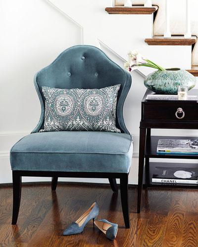 Nance Tufted-Back Chair