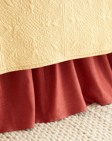 Queen Granada Paprika Dust Skirt