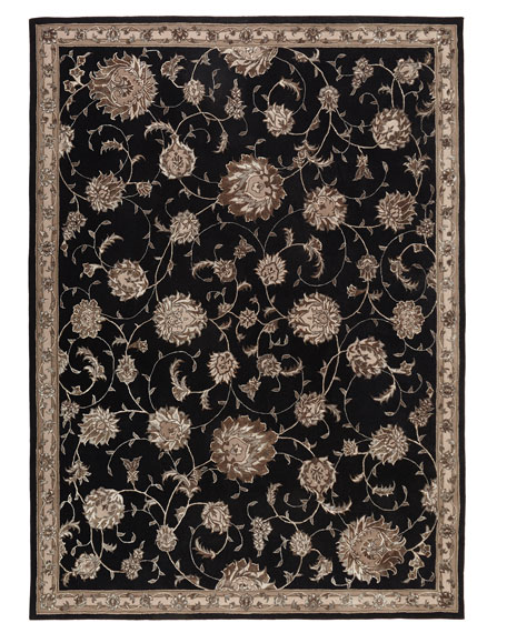 "Black Beauty Rug, 3'9"" x 5'9"""