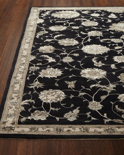 Black Beauty Rug  5'3 x 7'5