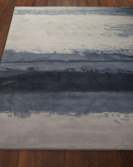 Blue Luster Mat, 3' x 5'