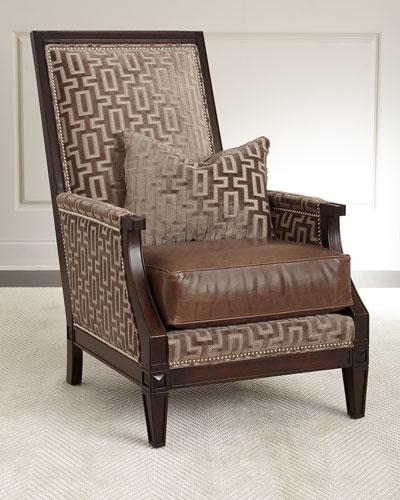 Ledecky Fabric & Leather Chair