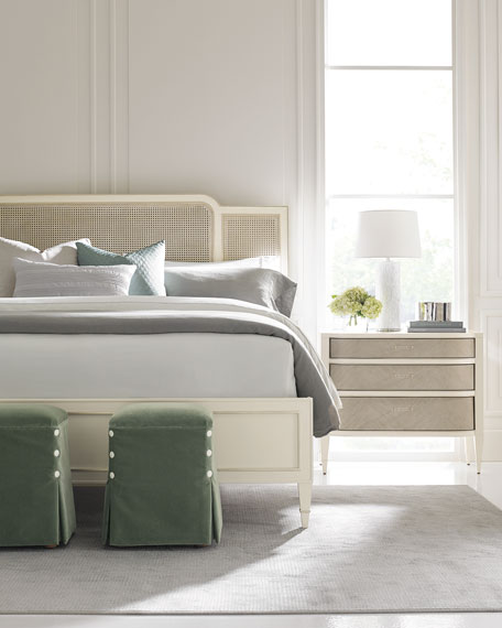 Redford Queen Cane Bed