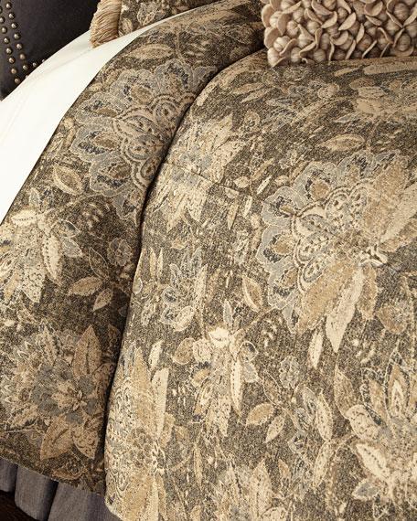 Queen Livingston Floral Duvet Cover