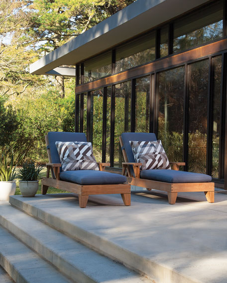 Saranac Outdoor Chaise
