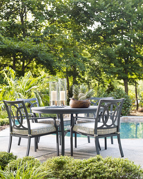 - Lane Venture Raleigh Round Outdoor Dining Table