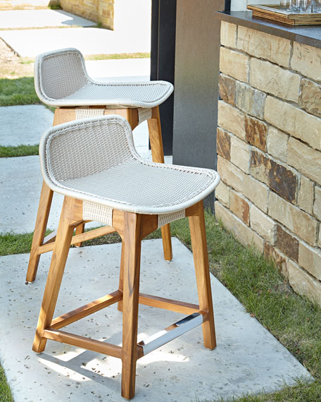 Bon Palecek Vista Outdoor Counter Stool