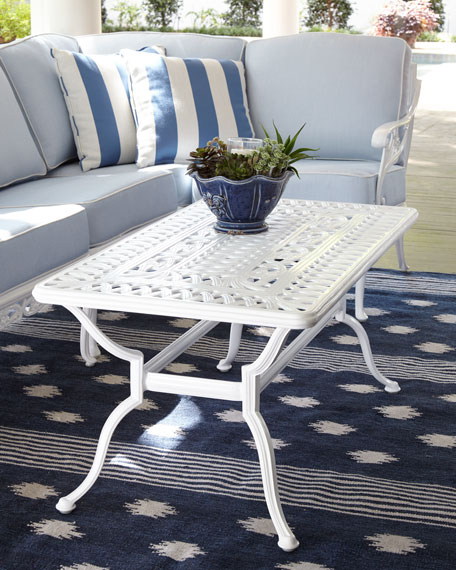 Day Lily Outdoor Coffee Table