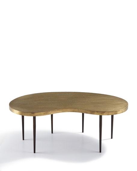 Arteriors Rein Brass Coffee Table