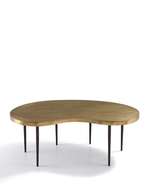 Arteriorsrein Brass Coffee Table