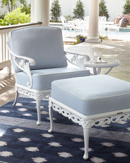 Day Lily Outdoor Lounge Chair