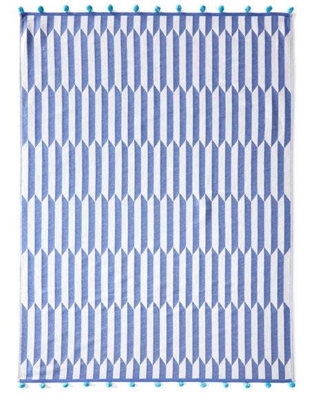 Nicatta Blue Beach Towel