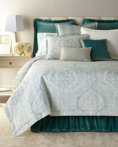 Queen Milano Mist Duvet Cover