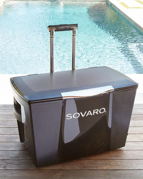 45-Quart Luxury Cooler on Wheels