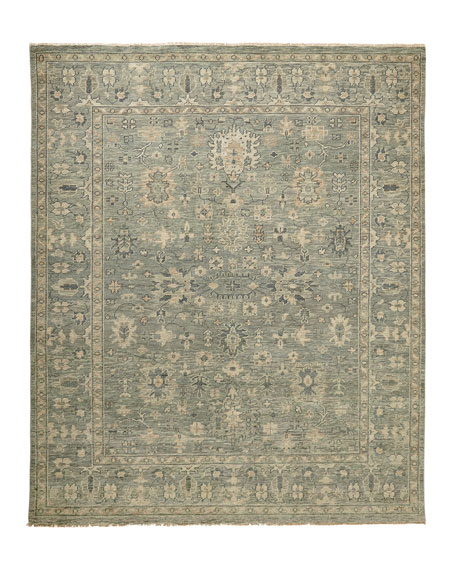 Lambros Hand Knotted Rug, 10' x 14'