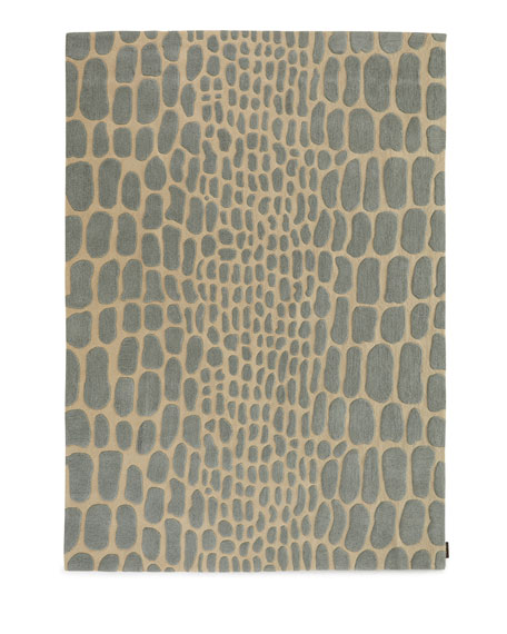 "Nielson Rug, 5'3"" x 7'4"""