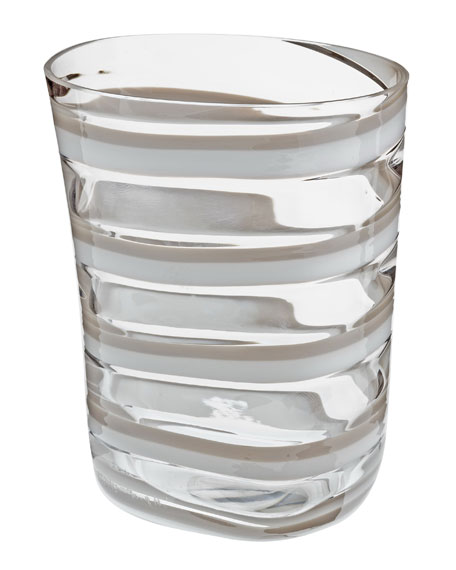 Bora Drinking Glass, White