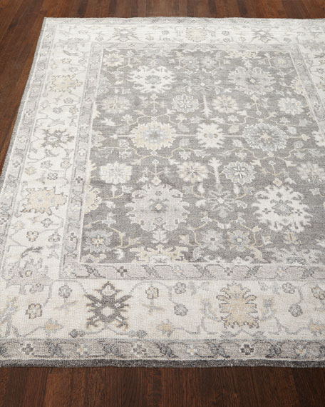Andrea Hand Knotted Rug, 5' x 8'