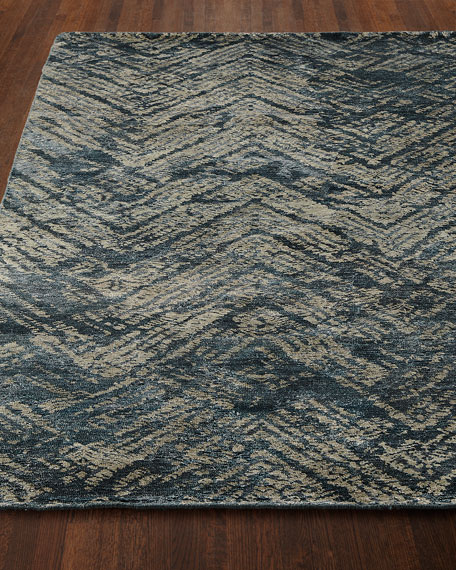 Moniz Hand-Knotted Rug, 5.6