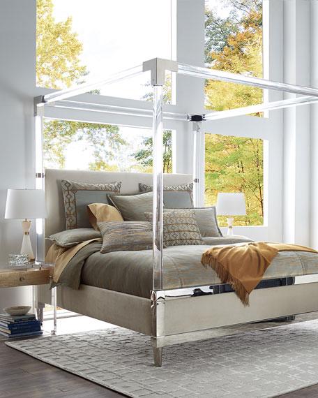 Bernhardt Hayworth Acrylic King Bed