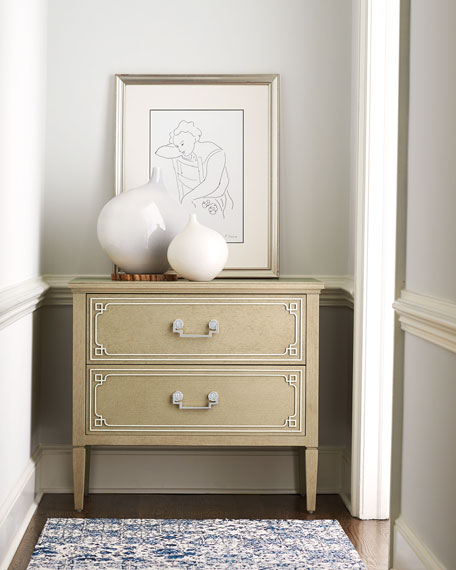 Ophelia 2-Drawer Nightstand