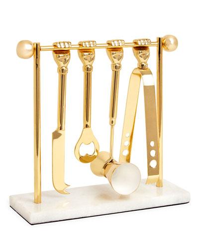 Barbell Barware Set