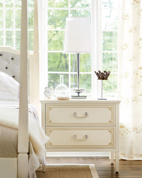 Natalie 2-Drawer Nightstand