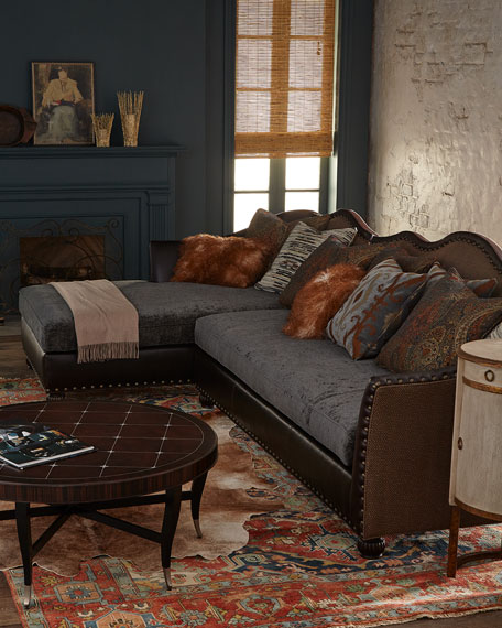 Massoud Brenda Chaise Sectional Sofa