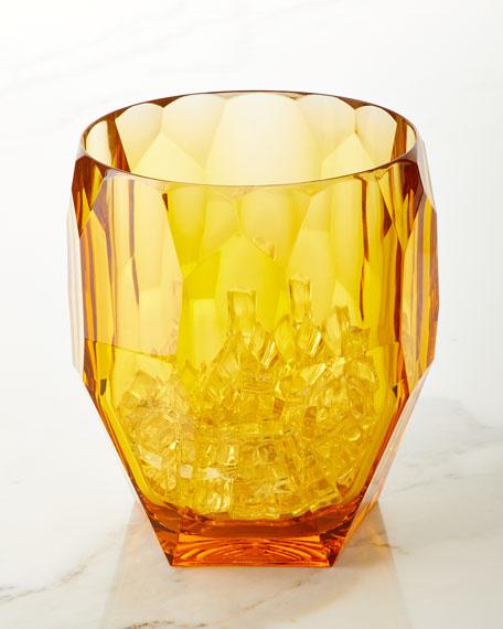 Mario Luca Giusti Antarctica Amber Acrylic Ice Bucket