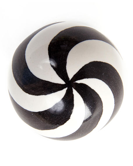 Dot Majolica Decorative Knob