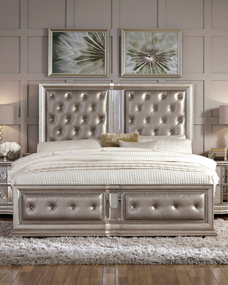 Vivian Tufted California King Bed