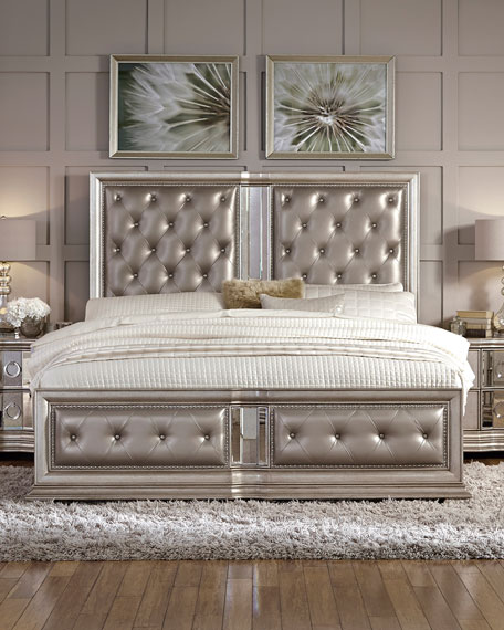 Nice Tufted Bed Frame Model
