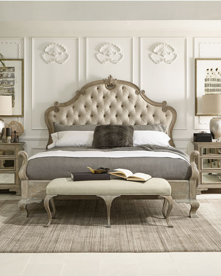 Bernhardt Ventura Tufted California King Bed