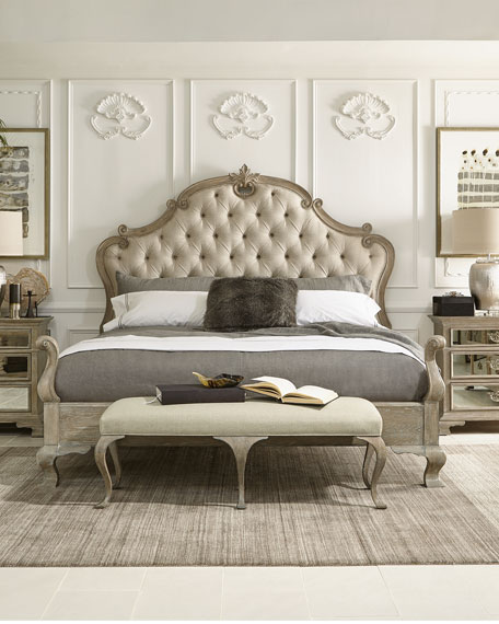 Bernhardt Ventura Tufted Queen Bed
