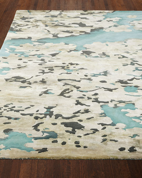 """Prism Sky Abstract Rug, 7'9"""" x 9'9"""""""